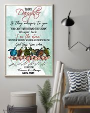 Turtle - To My Daughter 11x17 Poster lifestyle-poster-1