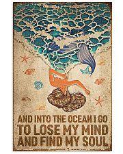 Ocean - Vintage Mermaid 11x17 Poster front