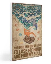 Ocean - Vintage Mermaid 20x30 Gallery Wrapped Canvas Prints thumbnail