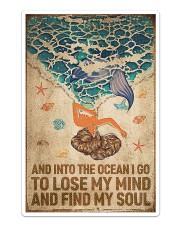 Ocean - Vintage Mermaid Sticker - Single (Vertical) thumbnail