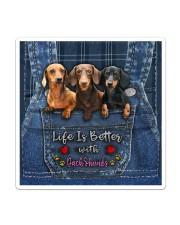 Dachshund Life Is Better Sticker - Single (Vertical) thumbnail