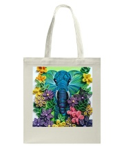 Elephant Quilling  Tote Bag thumbnail