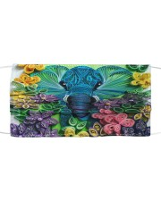 Elephant Quilling  Cloth face mask thumbnail