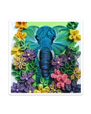 Elephant Quilling  Sticker - Single (Vertical) thumbnail