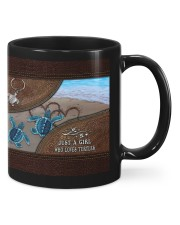 A girl who loves turtles Mug thumbnail