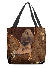 Bloodhound  All-over Tote front