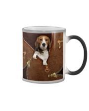 Beagle  Color Changing Mug tile