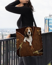 Beagle  All-over Tote aos-all-over-tote-lifestyle-front-05