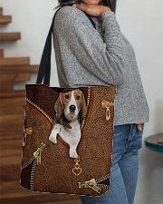 Beagle  All-over Tote aos-all-over-tote-lifestyle-front-09