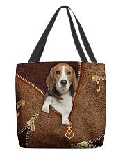 Beagle  All-over Tote back