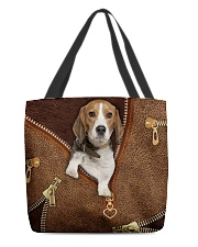 Beagle  All-over Tote front