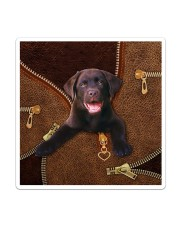Chocolate Labrador Sticker - Single (Vertical) thumbnail