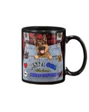 Just A Girl Who Loves German Shepherd Mug thumbnail