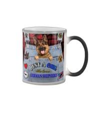 Just A Girl Who Loves German Shepherd Color Changing Mug thumbnail