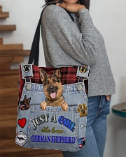 Just A Girl Who Loves German Shepherd All-over Tote aos-all-over-tote-lifestyle-front-09