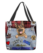 Just A Girl Who Loves German Shepherd All-over Tote back