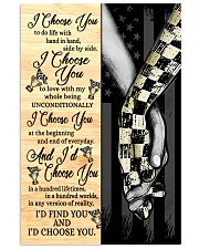 Racing I Choose You 11x17 Poster front