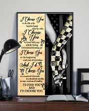 Racing I Choose You 11x17 Poster lifestyle-poster-2