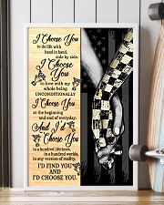 Racing I Choose You 11x17 Poster lifestyle-poster-4
