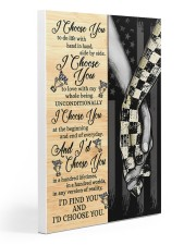 Racing I Choose You 20x30 Gallery Wrapped Canvas Prints thumbnail