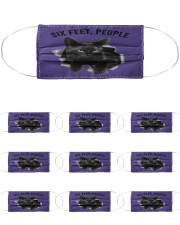 Cat Six Feet People St Cloth Face Mask - 10 Pack thumbnail