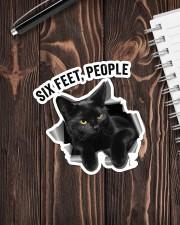 Cat Six Feet People St Sticker - Single (Vertical) aos-sticker-single-vertical-lifestyle-front-05