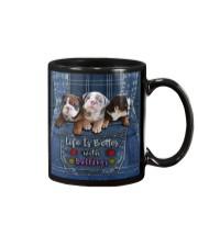 English Bulldog Life Is Better Tote Bag  Mug thumbnail