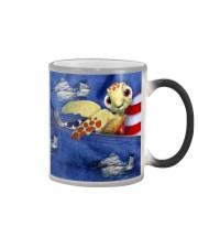 Turtle Denim Style Color Changing Mug thumbnail