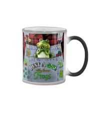 Just A Girl Who Loves Frogs  Color Changing Mug thumbnail
