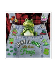Just A Girl Who Loves Frogs  Sticker - Single (Vertical) thumbnail