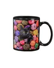 Black Cat wool Rolls Mug thumbnail