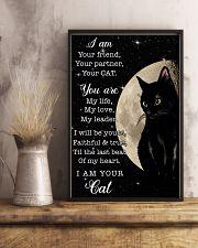 Black Cat - Friend 11x17 Poster lifestyle-poster-3