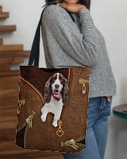 English Spinger Spaniel All-over Tote aos-all-over-tote-lifestyle-front-09