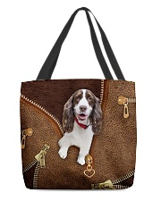 English Spinger Spaniel All-over Tote back