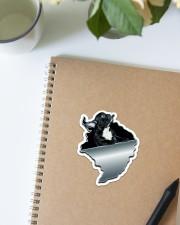 French Bulldog Crack Sticker Sticker - Single (Vertical) aos-sticker-single-vertical-lifestyle-front-16