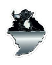 French Bulldog Crack Sticker Sticker - Single (Vertical) front