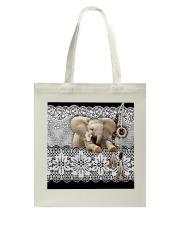 Elephant Amigurumi  Tote Bag thumbnail