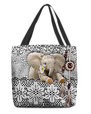 Elephant Amigurumi  All-over Tote back