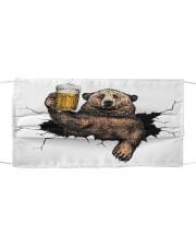 Bear Drink Beer Crack St Cloth face mask thumbnail
