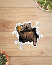 Bear Drink Beer Crack St Sticker - Single (Vertical) aos-sticker-single-vertical-lifestyle-front-07
