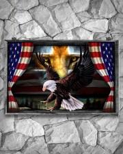Eagle Jesus Flag  17x11 Poster aos-poster-landscape-17x11-lifestyle-13