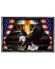Eagle Jesus Flag  17x11 Poster front