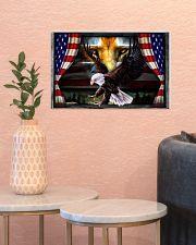 Eagle Jesus Flag  17x11 Poster poster-landscape-17x11-lifestyle-21