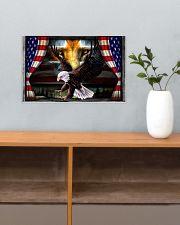 Eagle Jesus Flag  17x11 Poster poster-landscape-17x11-lifestyle-24