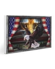 Eagle Jesus Flag  30x20 Gallery Wrapped Canvas Prints thumbnail