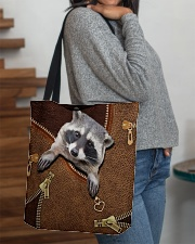 Racoon All-over Tote aos-all-over-tote-lifestyle-front-09