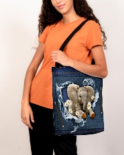 Elephant Daisy Jean For Elephant Lovers Tote Bag All-over Tote aos-all-over-tote-lifestyle-front-07