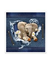 Elephant Daisy Jean For Elephant Lovers Tote Bag Sticker - Single (Vertical) thumbnail