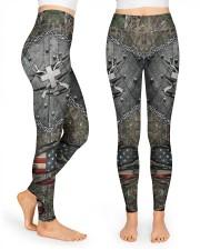Hunting Cross American Flag Legging High Waist Leggings front