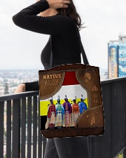 Native Blood Tote All-over Tote aos-all-over-tote-lifestyle-front-05